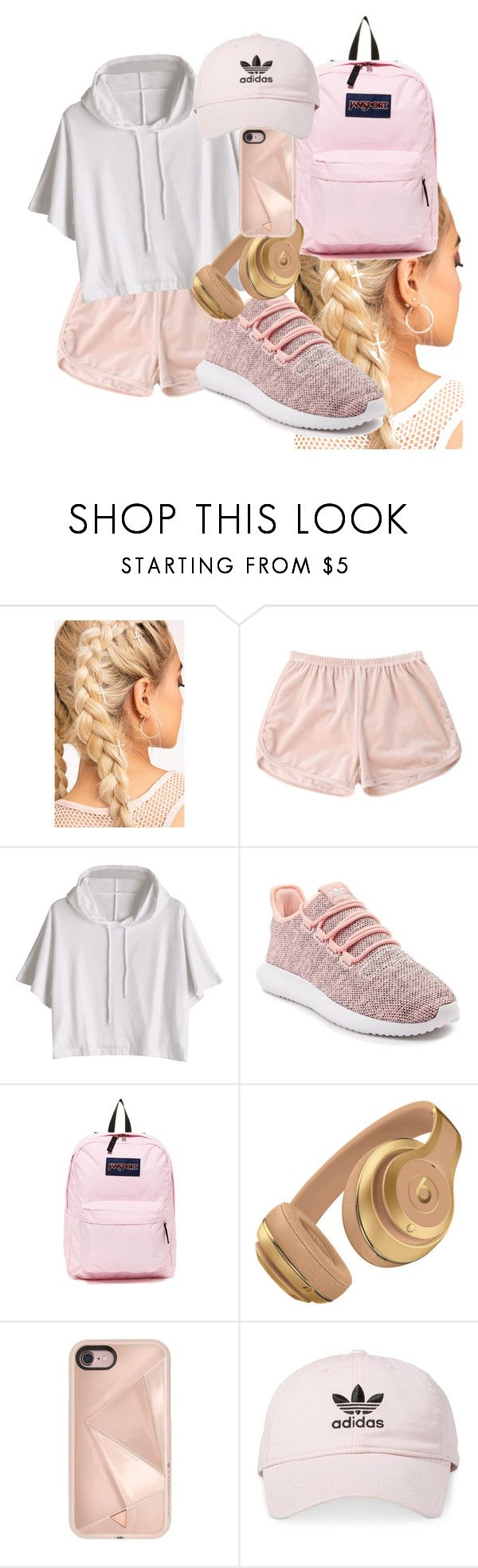 """""""Untitled #18"""" by androsales24 on Polyvore featuring adidas, JanSport and Rebecca Minkoff"""