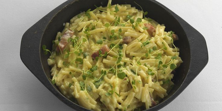 Quick bake macaroni cheese  by Paul Heathcote. Retro favourite macaroni cheese receives an upgrade, courtesy of legendary chef Paul Heathcote
