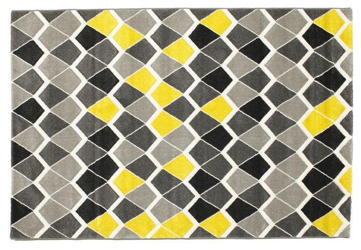 Kaleo - Geel tapijt 160x230