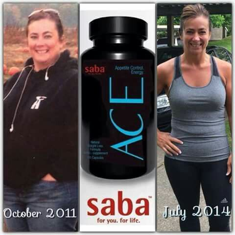 Before/after saba ace