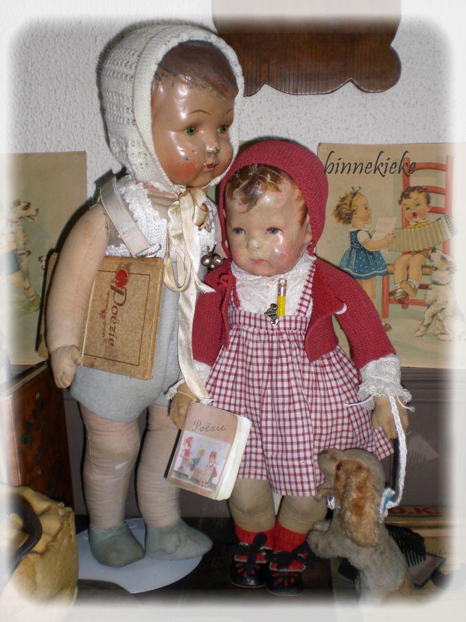 antieke poppen