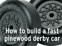 How to make a fast pinewood derby car -- Boys' Life magazine