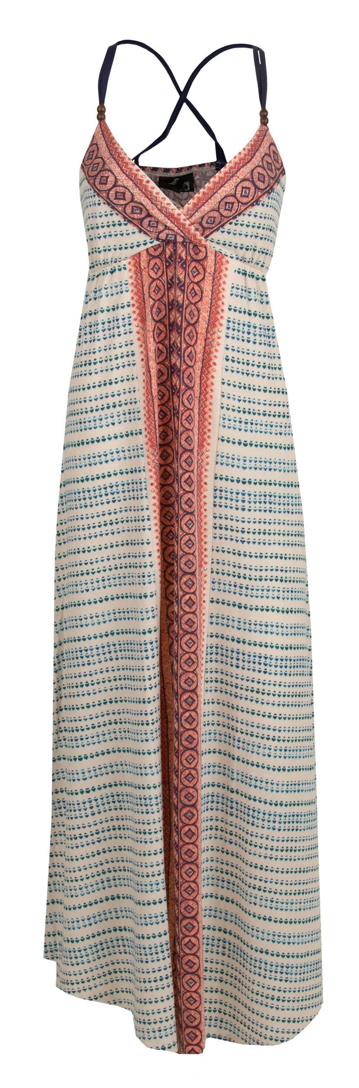 Angie Bohemian Maxi Dress