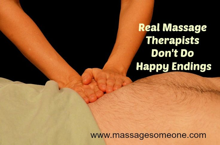 Real Massage Therapists don't do happy endings.  If you are thinking of becoming a massage professional, here are some things you need to know.