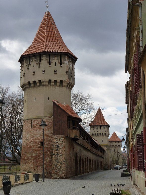 Sibiu Hermannstad, Transilvania, Romania