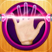 """Palm Reading Booth - Like horoscopes, astrology, and tarot, but for your hand! ScreenshotsDescription #1 GLOBAL SMASH HIT! Ever wanted to know what your future holds? How about your friends? Now you can with PALM READING BOOTH -- a scary accurate way to see the future!ARE YOU READY?""""This app is ..."""