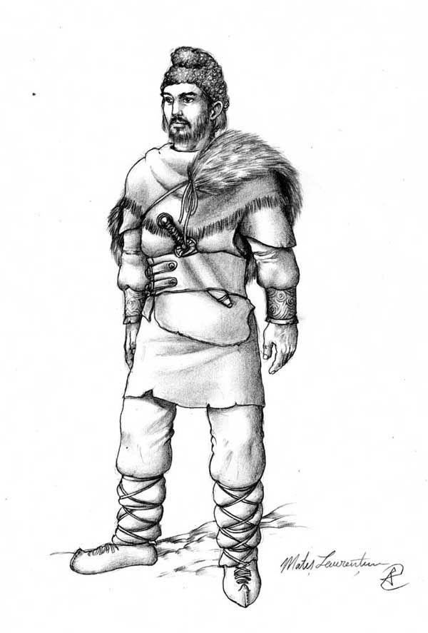 Dacian man.