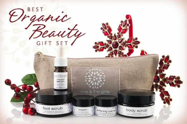 "Are you searching for the perfect ""redhead friendly"" skincare line to purchase this holiday season? The above Me & The Girls Organic Beauty Gift Set is a great choice for sensitive, redhead skin."