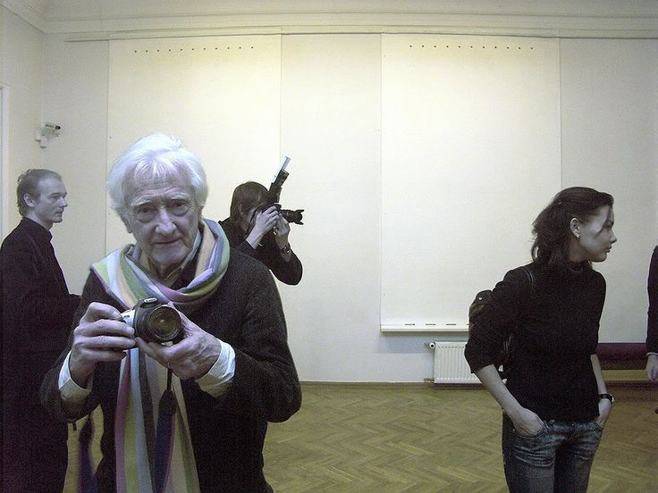 Фотограф. Марк Рибу. Зима. 2005. - Фотограф Александр Слюсарев
