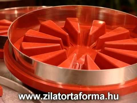 Zila Cake Moulds and the new technology makes possible to fill cakes with liquids! More information: www.zilatortaforma.hu/Default.aspx?lang=EN Part 4: Carro...