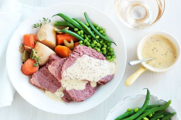 Corned silverside slow cooker style main image