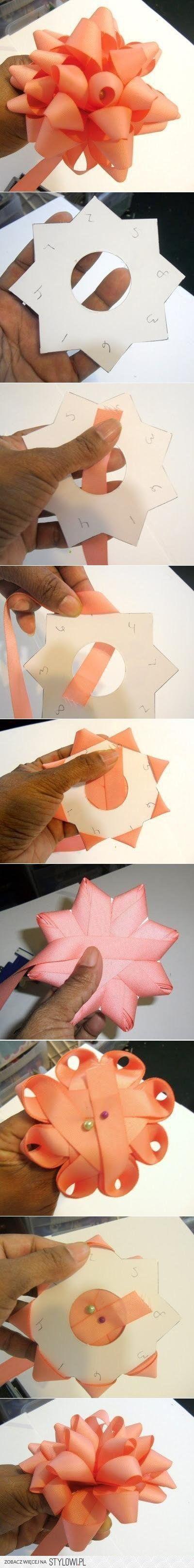DIY Bow of Ribbon DIY Projects | UsefulDIY.com na Stylowi.pl