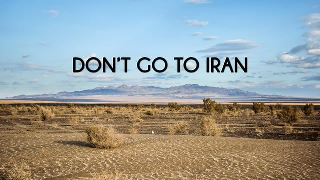 One advice: never set foot on Iranian soil.  For more info on our trip --> https://toltips.com/ You can follow my work: - on facebook.com/GlobeTolter - on instagram.com/traveltolt - on Snapchat @traveltolt - on twitter.com/GlobeTolter  Thank you very much to Erfan H.Yazdi for his help on finding Iranian sound atmospheres! Thank you very much to http://yazdbackpacker.com/ for taking us in Yazd desert for some motorbike and camel riding!  Music: http://bit.ly/1TR9g4K  Shot, direc...