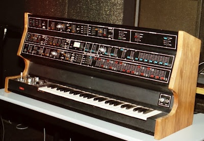 The Quasar II. The second prototype of what would become the Fairlight CMI.