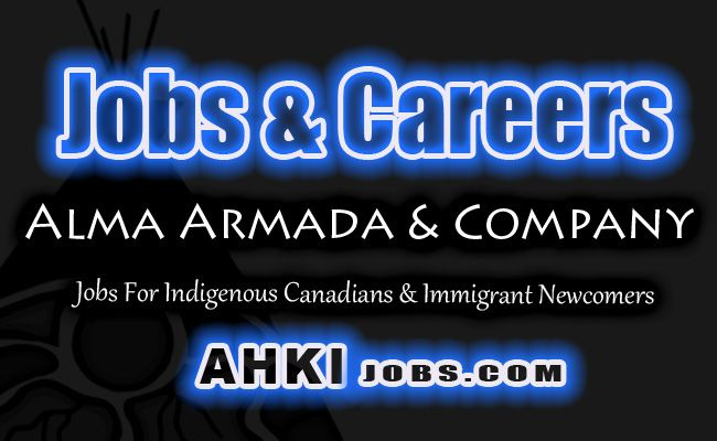 Alma Armada & Company https://shar.es/165LaN  Hiring Students First Nations Metis Aboriginal & Immigrants In Canada