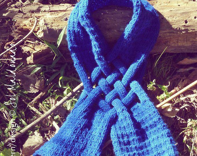 braided yarn scarf instructions