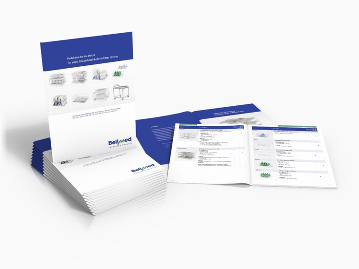 Catalog design for Belimed AG, Switzerland,  a leading global provider of solutions for cleaning, disinfection and sterilisation.