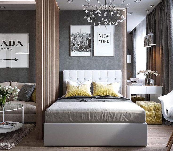 Studio Tall Bedroom Divider