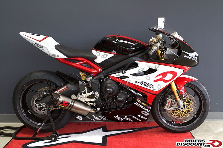 Only 6 days left to place your bid on one of our AMA race bikes! #RidersDiscount