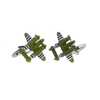 NEW! Fighter Plane Cufflinks