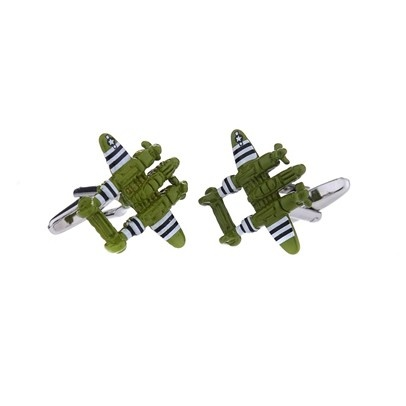 NEW! Fighter Plane Cufflinks
