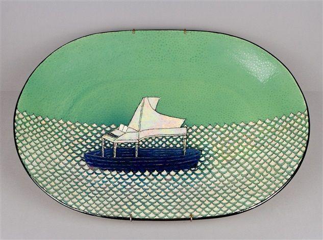 Decoration dish by Birger Kaipiainen