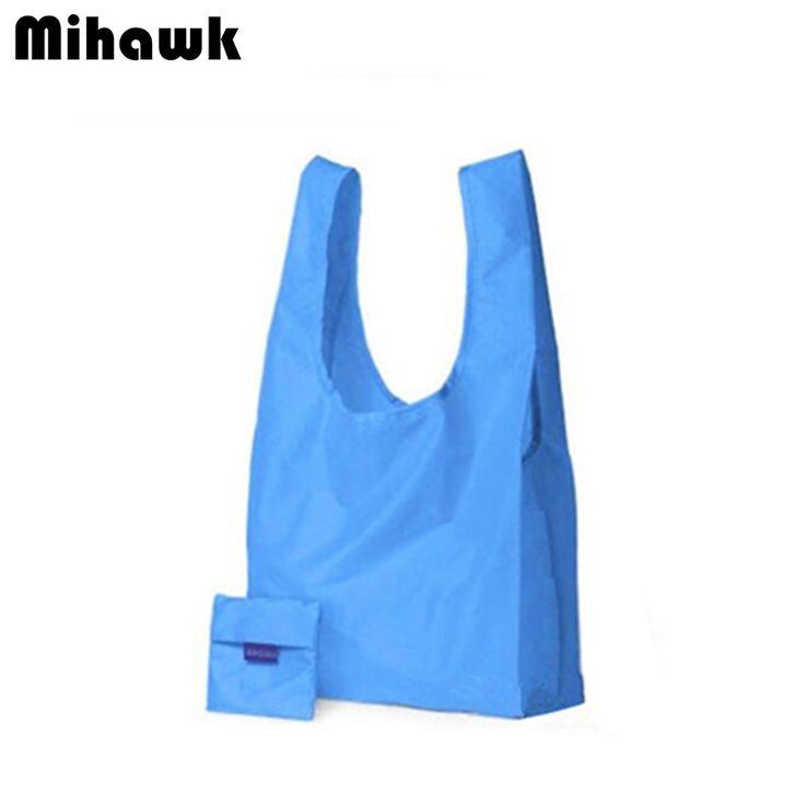 Fashion Leisure Folding Shopping Bag Travel Durable Multifunction Reusable Grocery Storage Pouch Accessories Supply Product