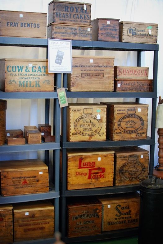 17 best wine boxes images on pinterest wooden wine for Where can i find old wine crates