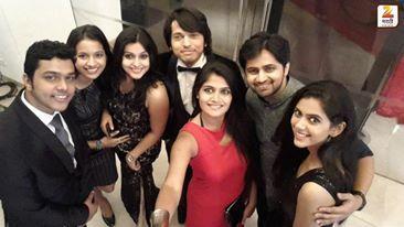 #selfie #redcarpet #zeemarathi #tvartists #smart