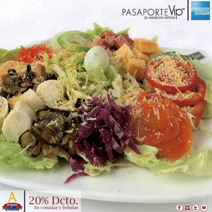 Disfruta nuestra exquisita Ensalada Especial, preparada con variedad de vegetales frescos. Hoy con 20% de descuento gracias a Pasaporte Vip  .   http://www.angusbrangus.com.co/alianzasydescuentos/ Cra. 42 # 34 - 15 / Km. 1 Vía las Palmas. Reservas: 2321632 - 310 7006602.  #restaurantesmedellín #AngusBrangus #medellín #Parrilla #Gastronomíainternacional #recomendadosmedellín #medellíntown #medellíncity #medellínsisabe #laspalmas #Bar #Colombia #Descuentos