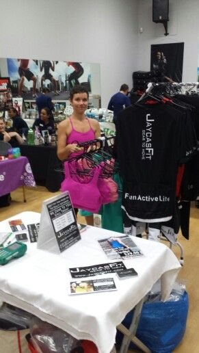 Out showing off our range of activewear at Snap Fitness Kingaroy