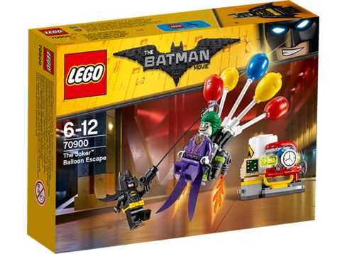 LEGO THE BATMAN MOVIE 70900 Jokern Ballongflykt