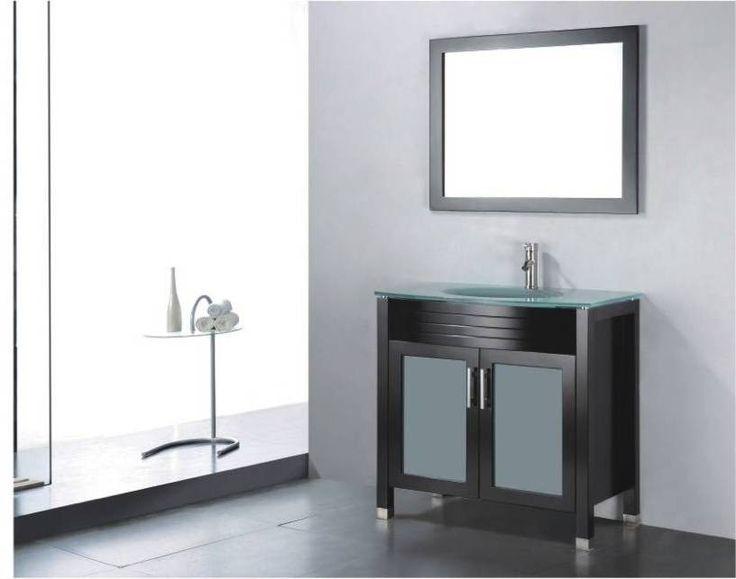 BT Adornus Adora 24 Inch Modern Bathroom Vanity Set   Espresso. 1000  images about Vanities 24 quot   amp  Under on Pinterest   Single sink