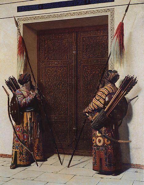 Василий Васильевич Верещагин. Двери Тамерлана. 1872