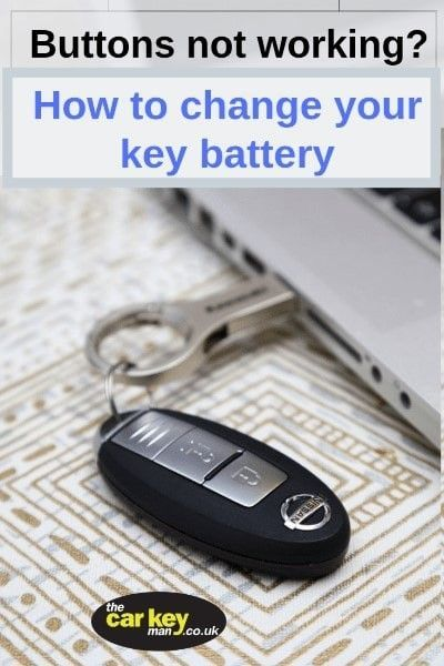 Nissan Proximity key battery change how to replace the car