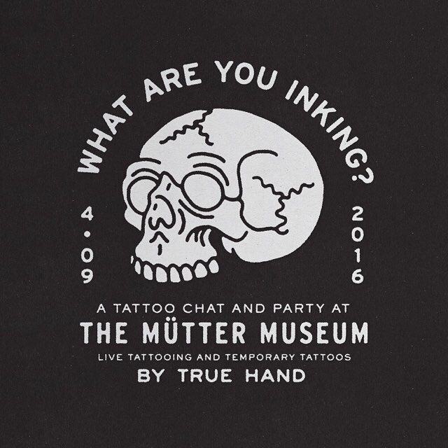 Hey friends! We're pleased to announce that THS will be accompanying the talented @mrs_angemi and Gemma Angel for their discussion at @muttermuseum regarding tattoos to celebrate the new skin exhibit. Live tattooing by @easy_tiger and temp tats by SQUAD ... Tickets are sold out! Can't wait to see you there! #truehandsociety #truehand #muttertattoo