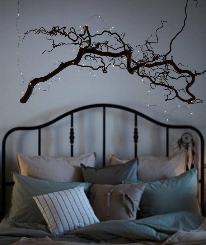 Guirlande Lumineuse Dans La Chambre 8 Idees Simples Deco