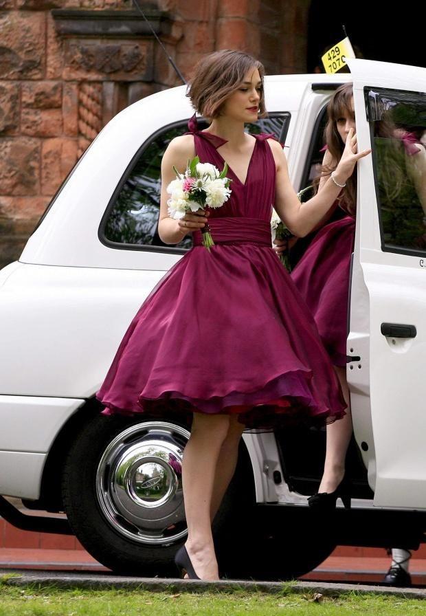 Keira Knightley demoiselle d'honneur pour son frère