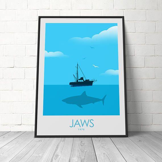 Jaws poster: Jaws Poster Print Film Poster Print Jaws Film