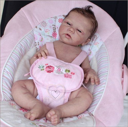 **A Romie Baby**SOLID Full SILICONE DOLL***CAMEO***#3 by Romie Strydom -reborn. | eBay