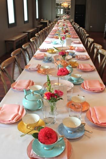 tea table settings tables - photo #34
