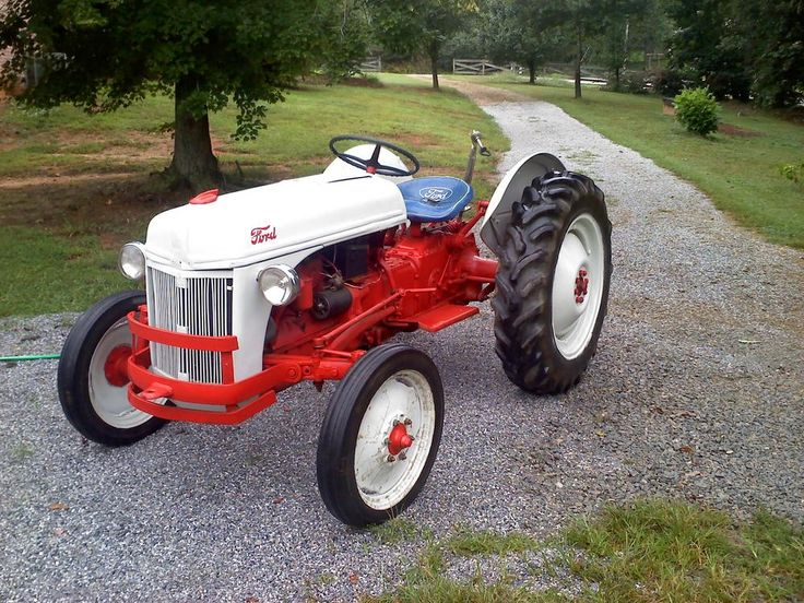 1949 Ford 8N Tractor. An oldie but a goody. Likely suspect for future garden tractor.