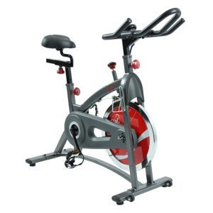The sunny health and fitness indoor cycling bike to offer you the best indoor cycling for your better fitness and cardiovascular health. This is the best home spin bike for your home gym. By the help of this sunny spin bike, you can burn your calories a lot in a week. For its challenging workout, you can achieve the best body fitness.