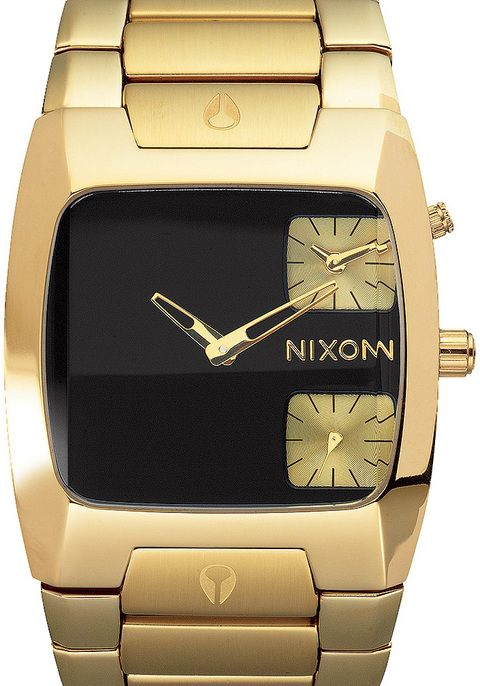 Nixon Banks All Black/Gold