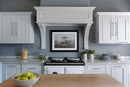 Neptune - Chichester Pair Of Cooker Hood Corbels. Click for larger image