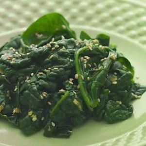 Sautéed Spinach Recipe. Popeye eats spinach so why don't you! This sautéed spinach recipe is a healthy and delicious side that will go well with any meal.