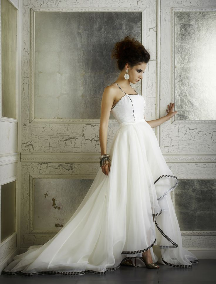leather and lace clothing | ... to bridal wear beyond ruffles and lace she adds leather and hardware