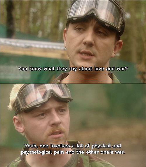 Spaced - Simon Pegg and Peter Serafinowicz