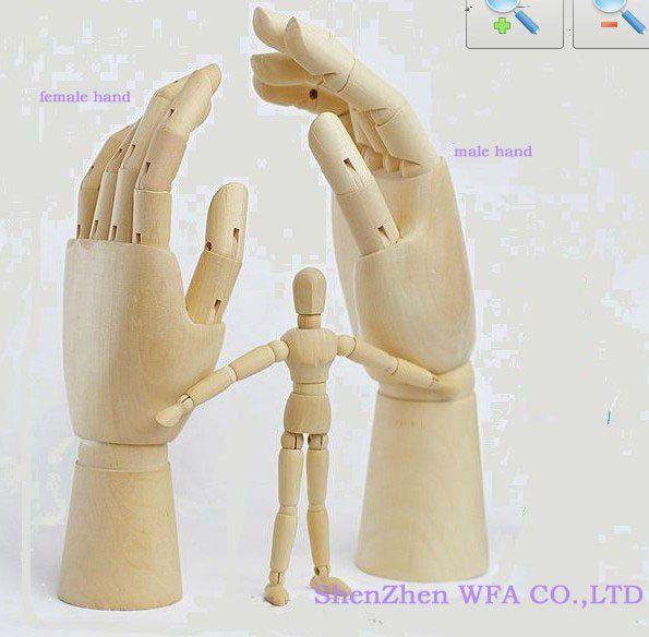 Manos de madera