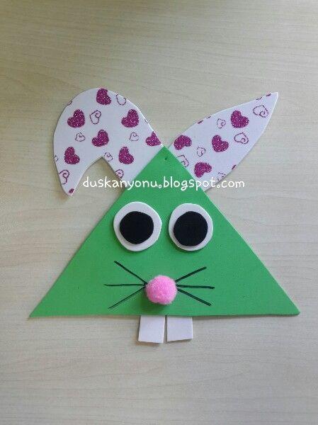 Evadan tavşan  #okuloncesi #etkinlik #presschool #kidscraft #etkinlikpaylasımı #etkinlikönerisi #duskanyonublog #sanatetkinligi #sanatmerkezi #eva